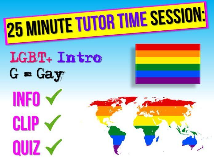 LGBT+ Month : Gay