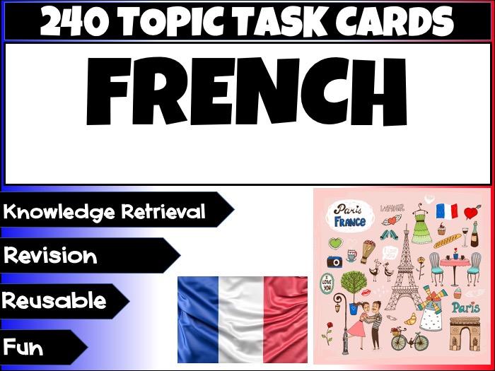 French MFL Language Revision