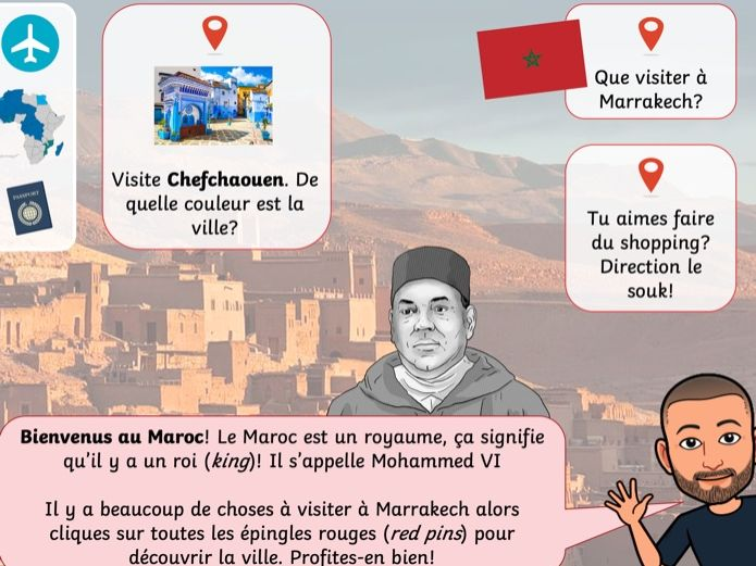 Visite virtuelle - Afrique