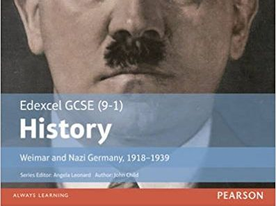 The recovery of the Weimar Republic under Stresemann - Edexcel GCSE (9-1) History