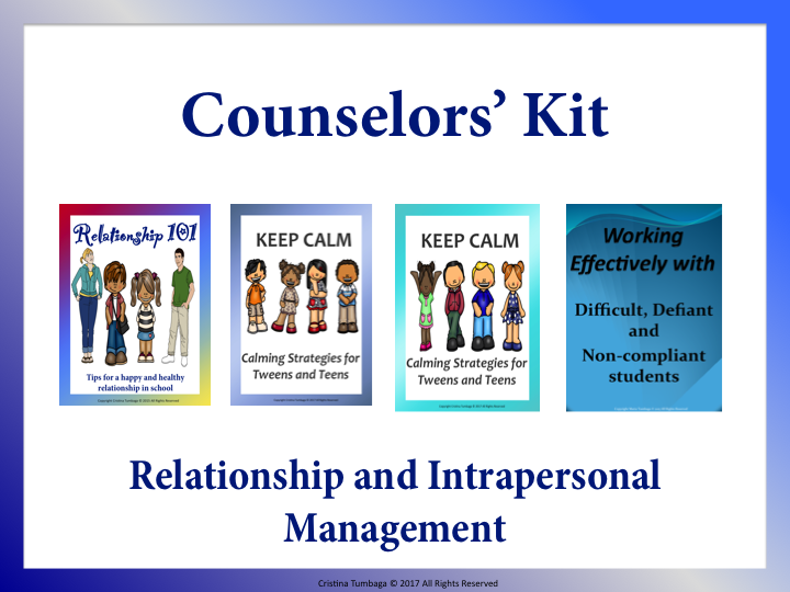 Counsellor's Kit: Relationship and Intrapersonal Management
