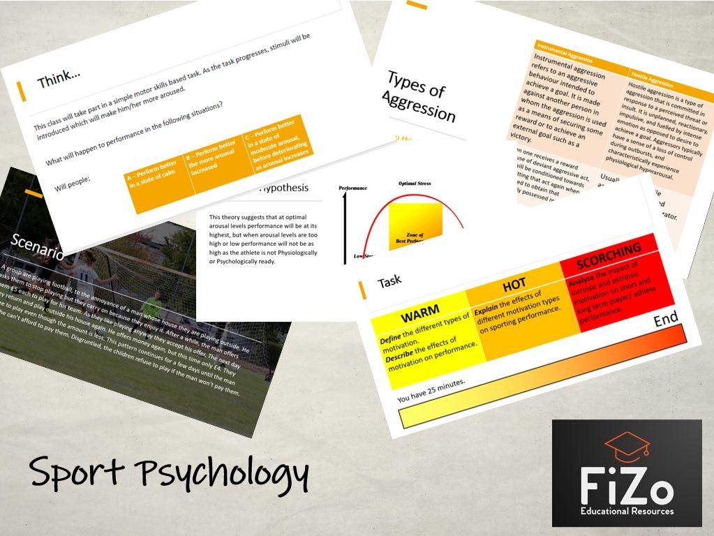 BTEC Sport L3 - Sports Psychology Full Unit