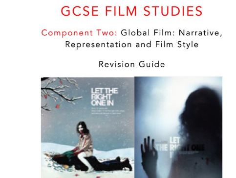 WJEC Eduqas GCSE FILM STUDIES LET THE RIGHT ONE IN  (ALFREDSON, 2008) STUDY BOOK
