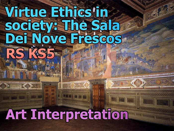 A2 Virtue Ethics Game: Sala Dei Nove Interpretation