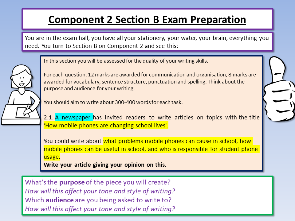 Eduqas English Component 2 Mock