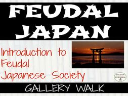 Feudal Japan Social Classes Gallery Walk Activity for Middle and High School