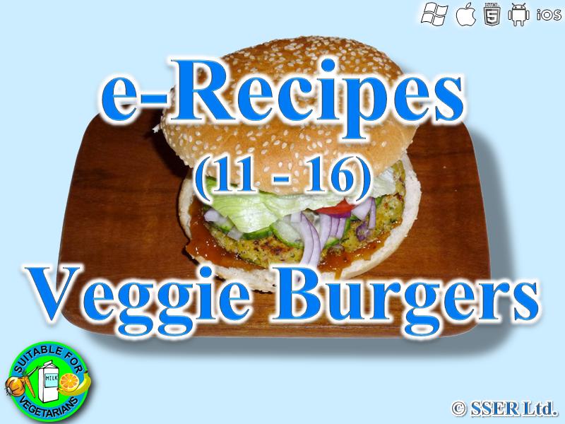 29. Veggie Burgers (e-Recipe)
