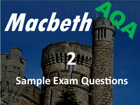 Macbeth Revision - Character of Macbeth - Exam Revision - Practice ...