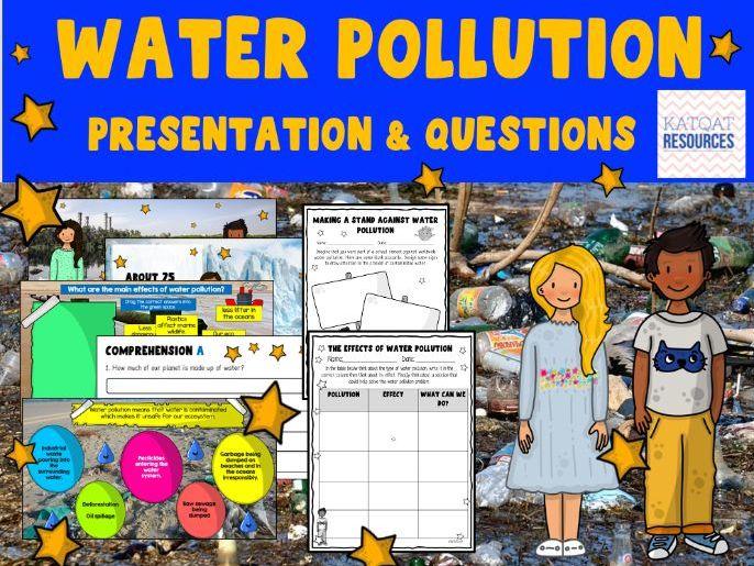 Water Pollution - Climate Change - Google Slides™.