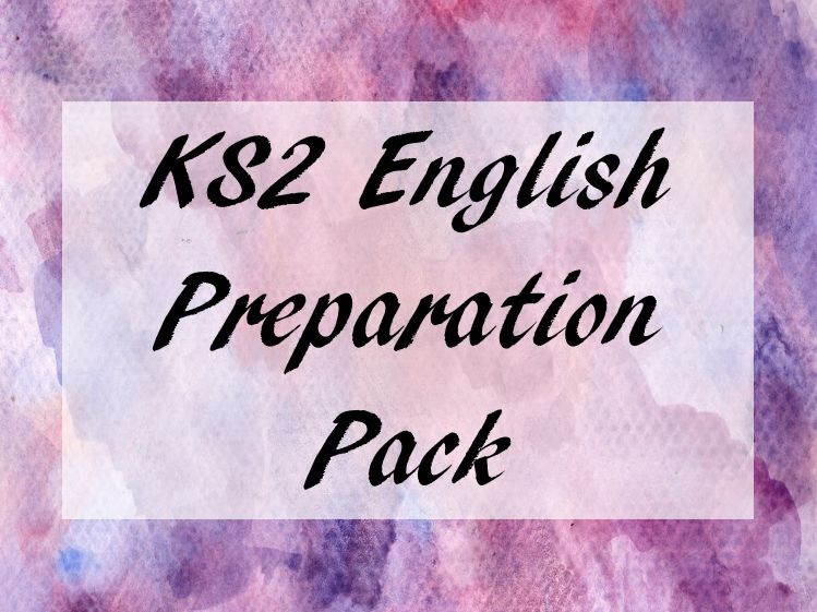 Key Stage 2 English Preparation Pack