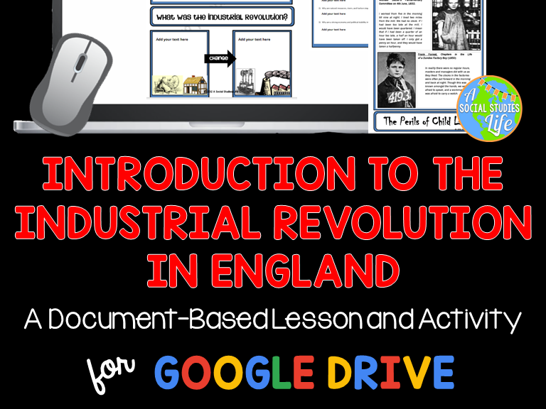 Industrial Revolution Document Based Activity