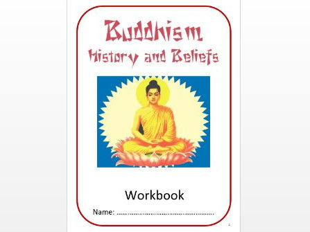 Buddhism: History and Beliefs Workbook: Med/Mid Ability