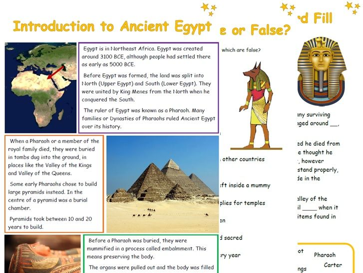 Ancient Egypt Resources
