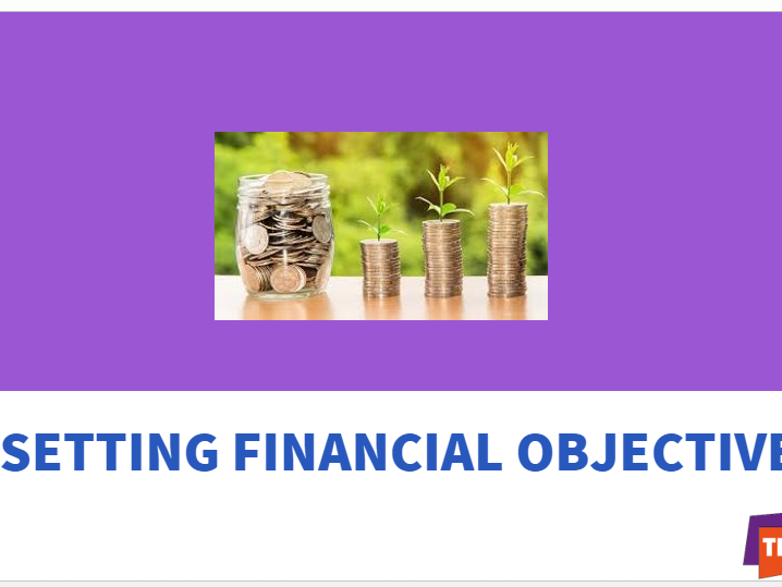 Setting Financial Objectives