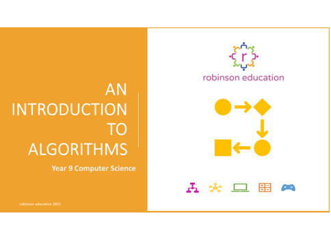 An Introduction to Algorithms - Key Stage 3