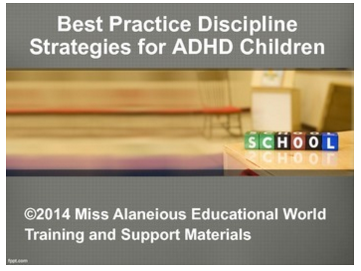 Discipline Strategies for ADHD Children
