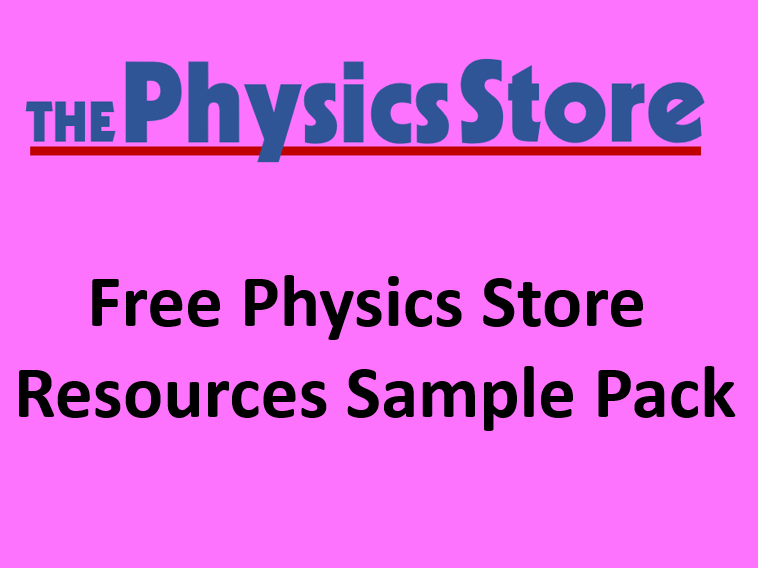 Free Physics Store Resources Sample Pack
