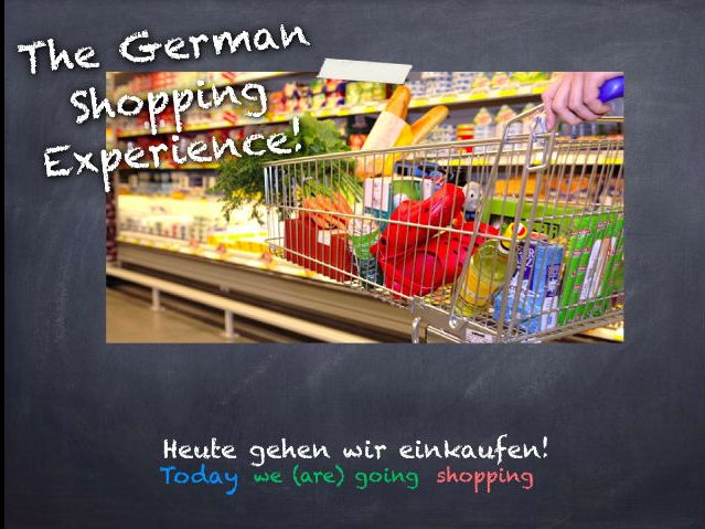 A German Supermarket Experience