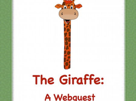 All About the Giraffe! An Internet Activity