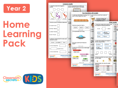Year 2 Summer Week 2 Home Learning Maths Pack