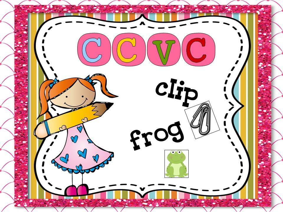 CCVC Word Work ~ K-1