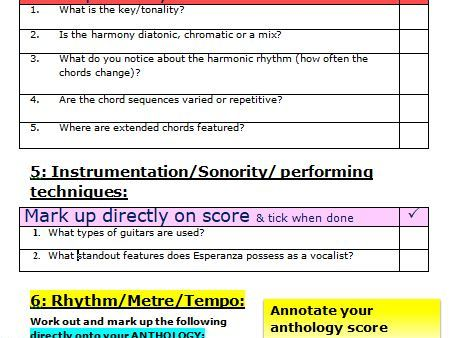 Samba em Preludio Score annotation guide (more able/independent/remote working students)