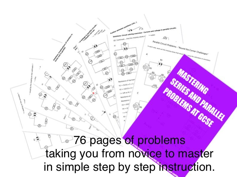 Mastering Series and Parallel Circuit Problems for GCSE and IGCSE