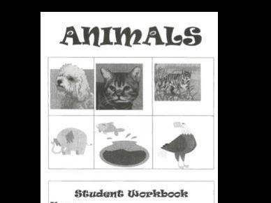 Animals Student Workbook