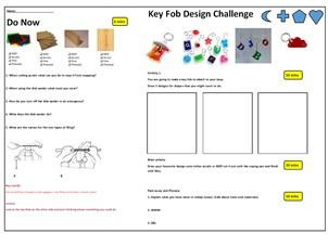 Key fob design and make cover task