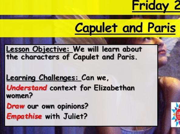 Romeo and Juliet - Capulet/Paris