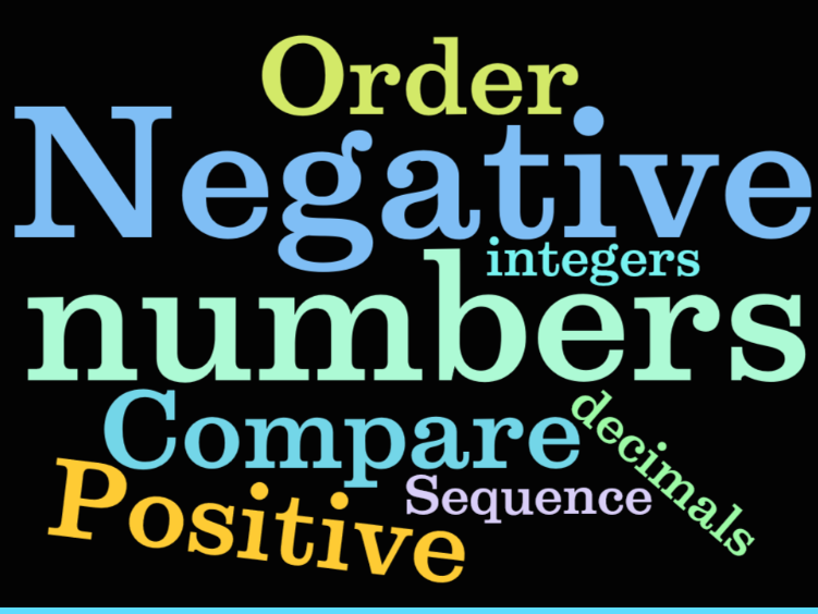 UKS2 (Year 5 and Year 6) / KS3 Maths - Negative Numbers - 3 lessons.