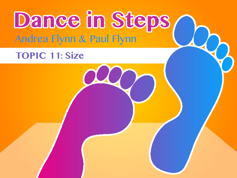 Dance In Steps - Topic 11 - Size