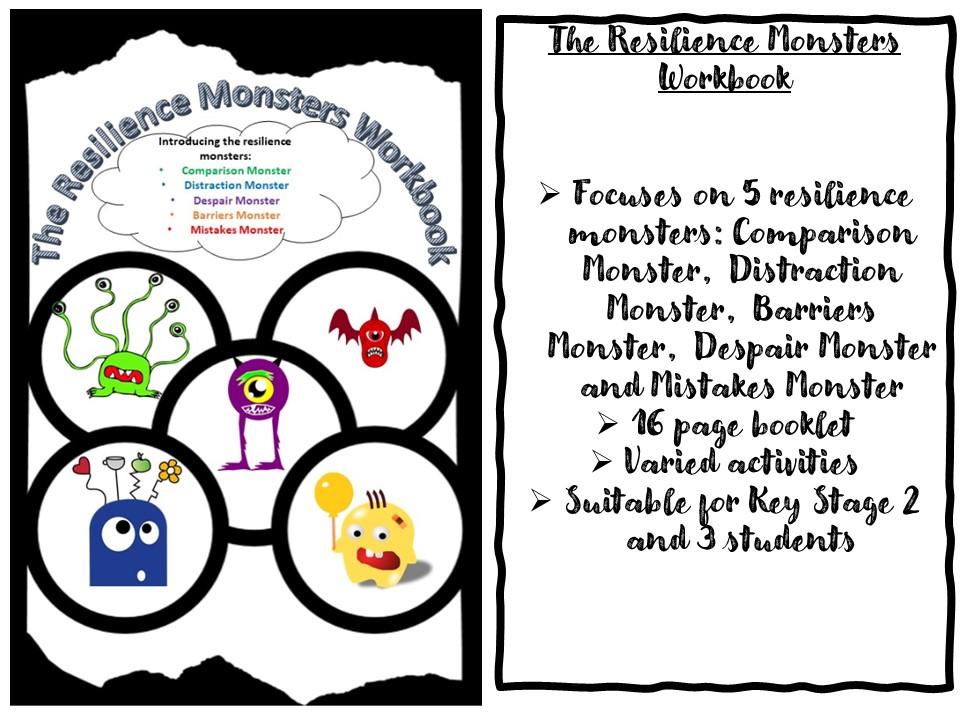 Reslience Monsters Workbook