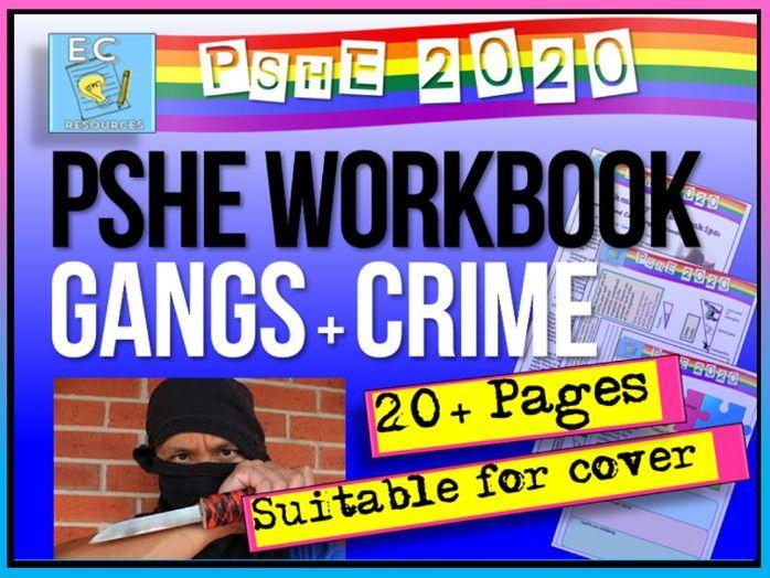 Gangs and Teen Crime PSHE Workbook