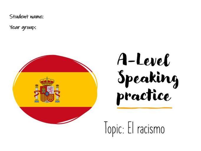 A-Level Speaking Conversational El racismo