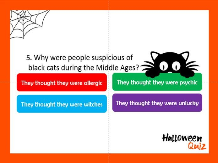 Ultimate Halloween Quiz (with answers) 30 questions