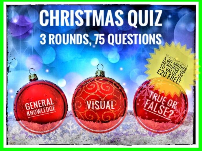 CHRISTMAS. Christmas Quiz