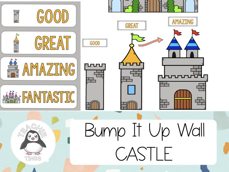 Bump It Up Wall Display - Castle Theme