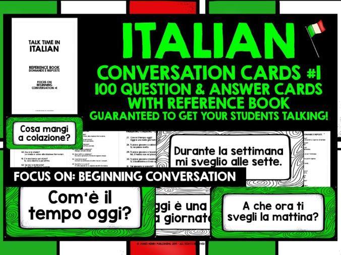 ITALIAN SPEAKING PRACTICE 1