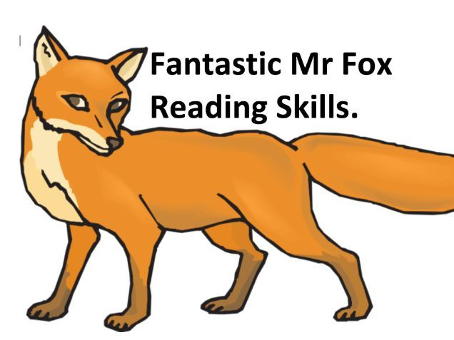 Fantastic Mr Fox Roald Dahl Book A Teaching Resources