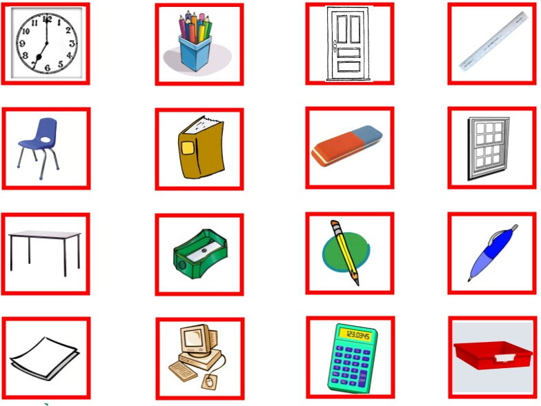 range of vocabulary target boards by duvetpublishing
