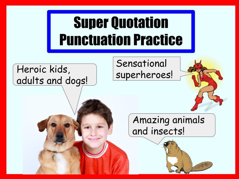 Super Quotation Punctuation Set