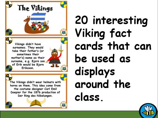 Viking Display Cards