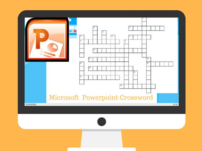 Microsoft Powerpoint Crossword Puzzle