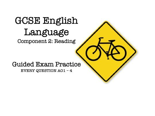 GCSE English Language Component 2 - Guided Exam Practice (Cycling)