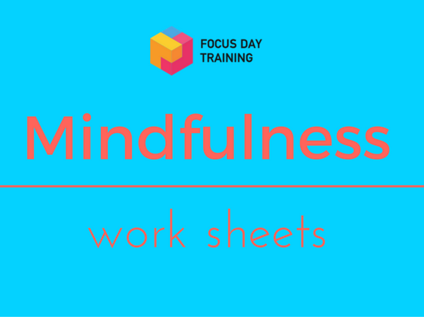 Worksheets for mindfulness bundle.
