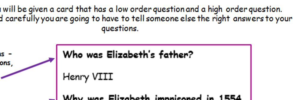 KS4 - Early Elizabethan England - Edexcel - Introduction - full lesson