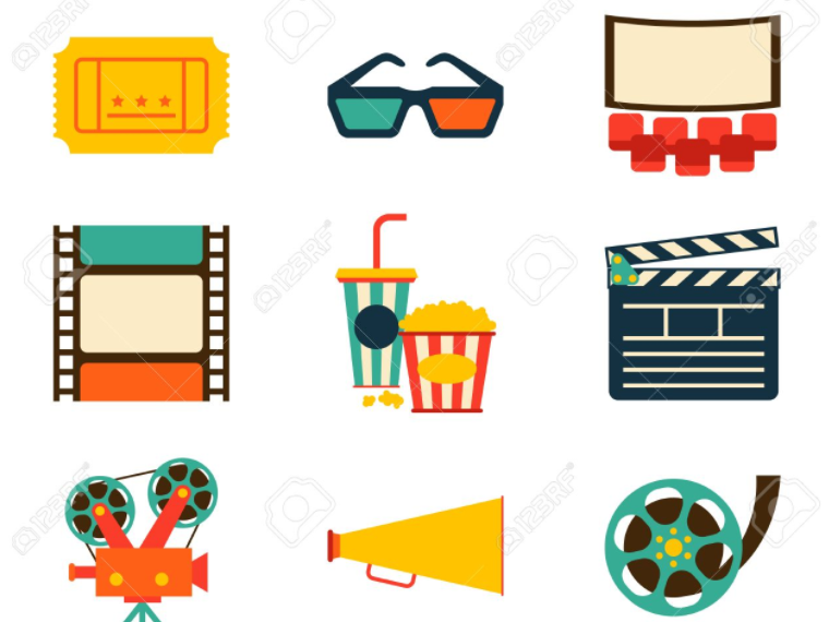 Worksheet with reading exercises for Films and going out activities
