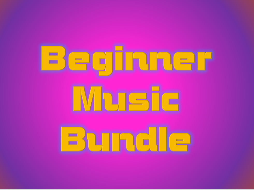 Beginner Music Bundle