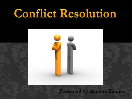 Conflict Management Powerpoint Presentation and Worksheet Lesson - Workplace